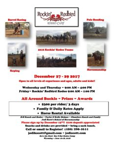 2017 Rodeo Camp